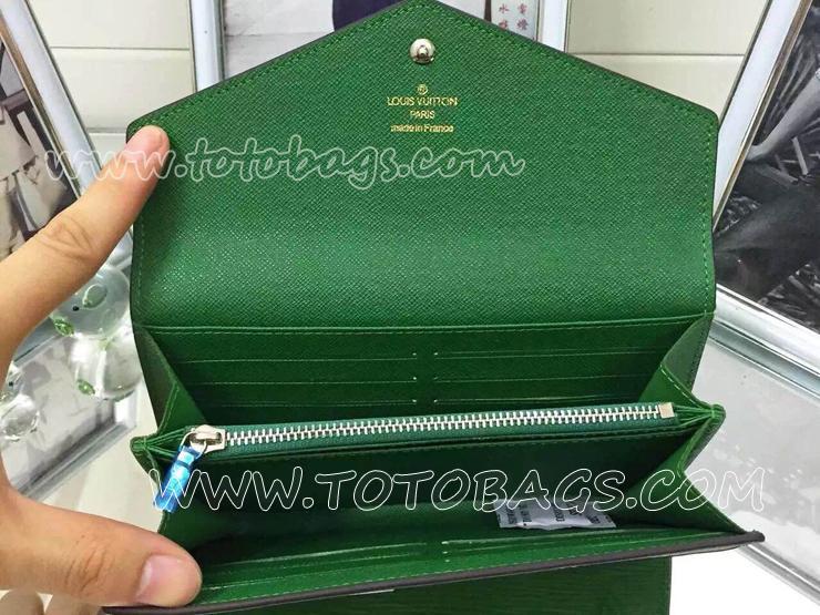 M60582ルイヴィトン財布人気ランキングエピ二つ折り財布 ルイヴィトンポルトフォイユ・サラ財布