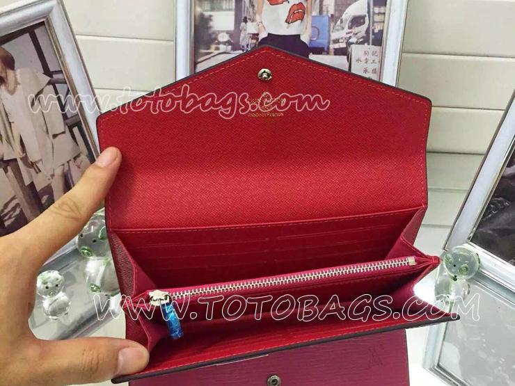 ルイヴィトンポルトフォイユ・サラ財布M60960グルナード ルイヴィトンエピ 二つ折り財布大人気財布