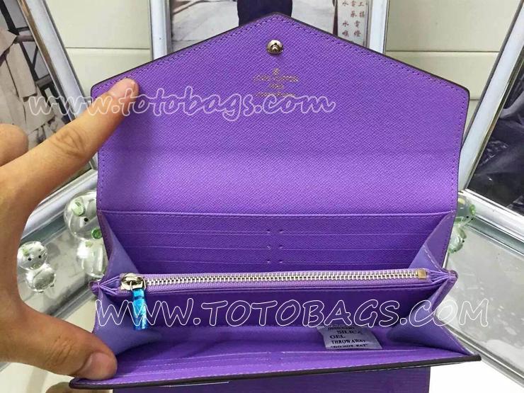 ルイヴィトン人気ランキングポルトフォイユ・サラ財布M60591 人気ブランドのルイヴィトンエピ二つ折り財布ケッチュ