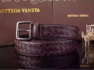ボッテガヴェネタベルトコピー 114098ダークコーヒー色 羊革