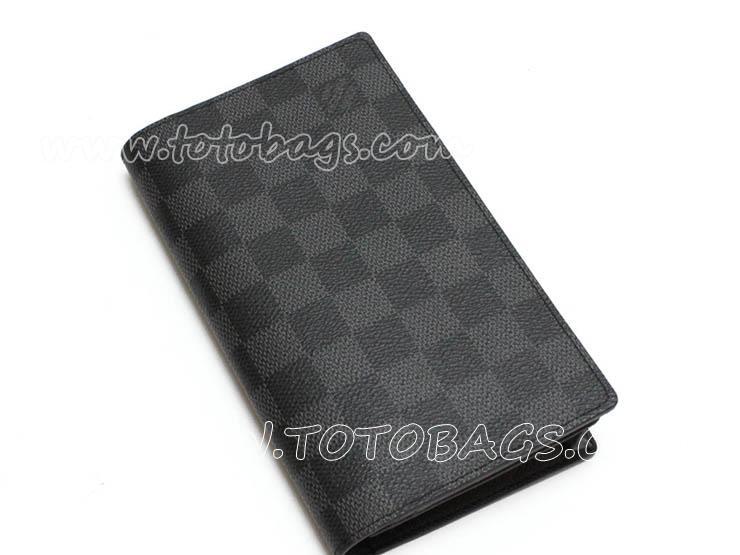 N63116 ルイ・ヴィトン ポルトフォイユコロンブス 二つ折り長財布  ダミエグラフィット 財布