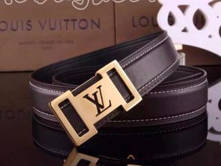 ルイヴィトン人気バッグ ルイヴィトン最高級のベルト 牛革 金色のベルトヘッド LV051コーヒー色