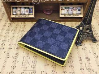 N63258 ルイヴィトン財布ポルトフォイユ・ミュルティプル LV二つ折り財布 黄色