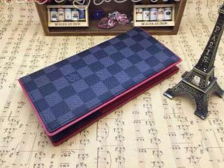 ルイヴィトン財布ポルトフォイユ・ブラザ N63254 ルイヴィトンダミエ グラフィット財布