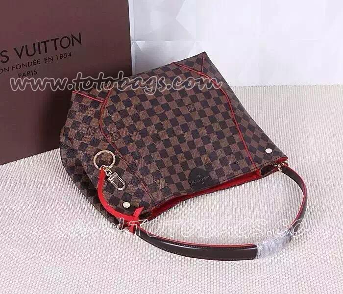 ヴィトンN級品ショルダーバッグ N41555 ルイヴィトンカイサ・ホーボーバッグ ダミエ バッグ
