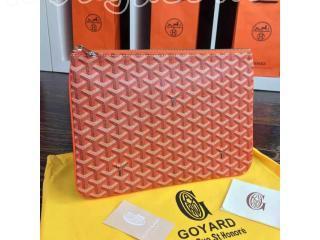 ゴヤールのバッグの中でも人気の高いバッグ クラッチバッグ GG004オレンジ色