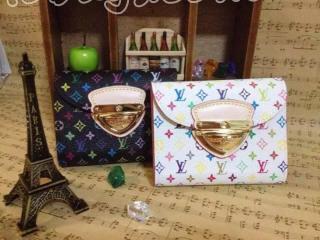 ルイヴィトンN品三つ折り財布 ルイヴィトン人気財布 M60047C ルイヴィトン・マルチカラー