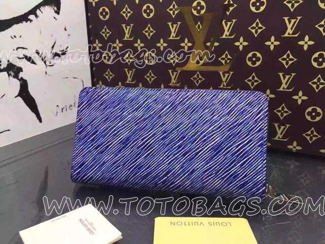 M61494 ルイヴィトンジッピー・ウォレット財布エピランドファスナー財布 2016春夏メンズ・ファッションショー