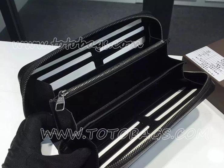 M61698 コピールイヴィトンジッピーXL財布 モノグラム・エクリプス キャンバス財布 売れ筋のヴィトン新作