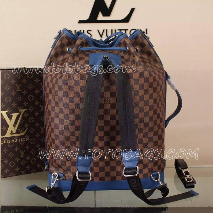 N級品リュックサック ルイ ヴィトン VUITTONダミエ バッグ コバルトランナーリュック N41584