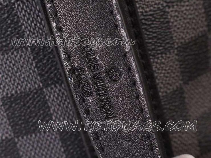 ルイヴィトンブランドコピー品 N41584 リュックサック ルイ ヴィトンダミエ・グラフィットバッグ コバルトランナーリュック