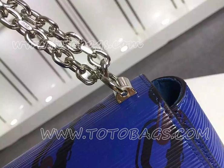 ルイヴィトンエピブランドバッグ ショルダーバッグ チェーン・フラワー 斜めがけショルダーバッグM42454B