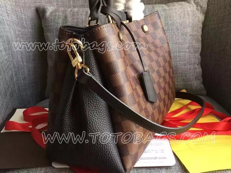 N41673 ブリタニールイヴィトンバッグ ダミエ・キャンバス ヴィトン 新品 バッグ モデル ハンドバッグ