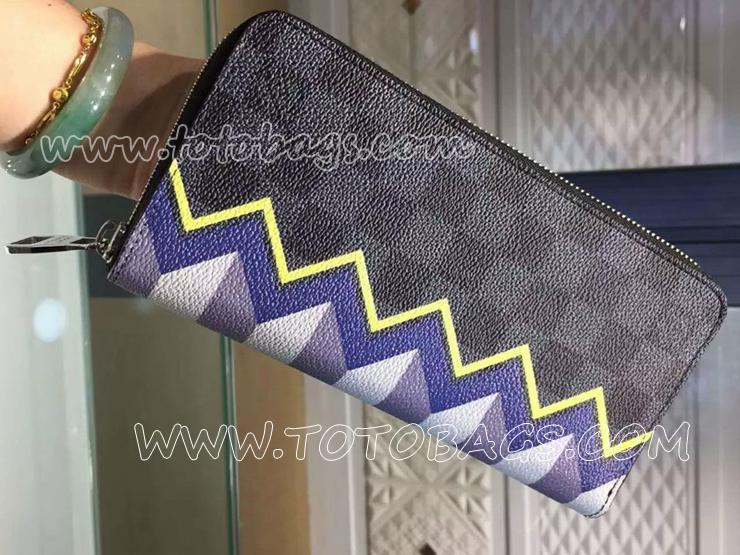 N61253 ルイヴィトン ジッピーウォレット・ヴェルティカル 長財布(小銭入れあり)ヴィトンラウンドファスナー長財布
