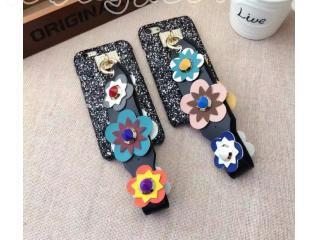 売れ筋人気ランキングiphone携帯用ケース 花リベットベルト 携帯用ケース iPhone7plusケース
