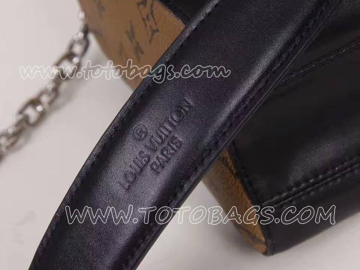 M54600 ルイヴィトンツイストMMスーパーコピー チェーンバッグ 大胆なアクセントショルダーバッグ