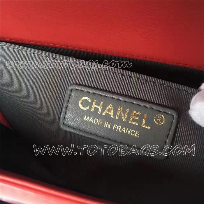 BOY CHANEL ハンドバッグ パイソン & シェブロン エンブロイダリー A67086