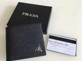 プラダ コインケース 財布 プラダ PRADA折財布/札入れ 2M0513 メンズ向け SAFFIANO/サフィア