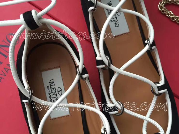 バレンチノ レディース靴 Ballet shoes通勤靴 Valentino バレエシューズ 優雅 プレゼントに最適