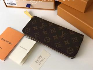 M61796 ルイヴィトン モノグラム 長財布 スーパーコピー LOUIS VUITTON ポルトフォイユ・クレマンス ドファスナー財布