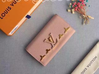 M64552 ルイヴィトン 二つ折り長財布 スーパーコピー 「LOUIS VUITTON」マグノリア ポルトフォイユ・カプシーヌ トリヨン