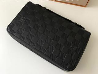 N61254 ルイヴィトン ダミエ・アンフィニ 長財布 スーパーコピー 「LOUIS VUITTON」 ジッピーXL ヴィトン メンズ ラウンドファスナー財布