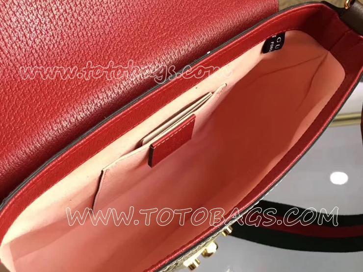 グッチ クロスボディ バッグ コピー GUCCI Padlock GGスプリーム レディース ショルダーバッグ 3色可選択 ベージュ 453189 K0LGG 8983