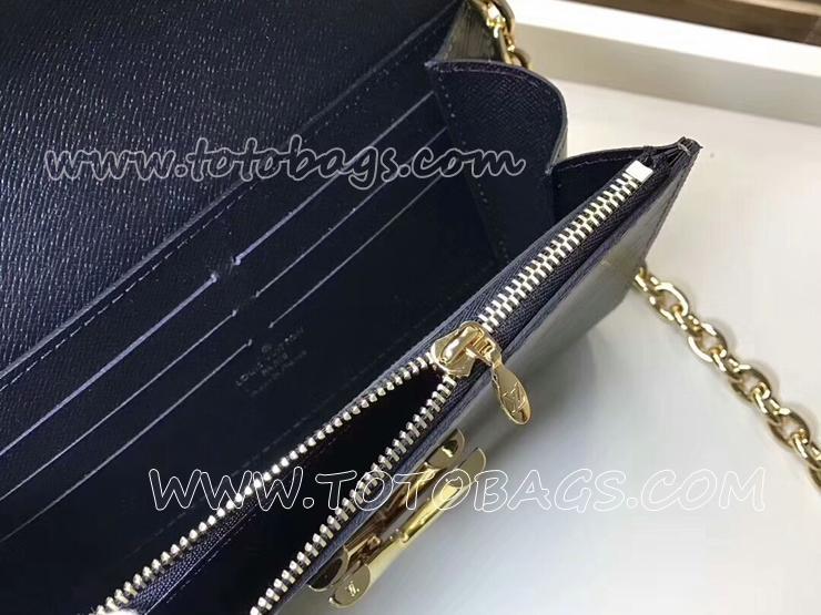 M67270 ルイヴィトン モノグラム 長財布 コピー 「LOUIS VUITTON」 ポルトフォイユ・ツイスト ヴィトン歌舞伎 レディース チェーン 二つ折り財布