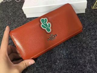 COACH財布激安通販 売れ筋人気ランキング二つ折り財布サボテン柄