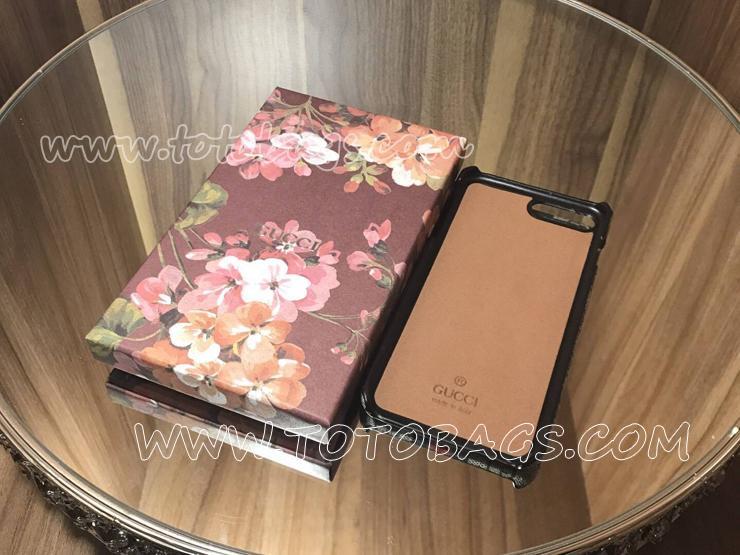 リボン レッド グッチ【携帯ケースiphone7】可愛いの携帯ケース 465801 K6500