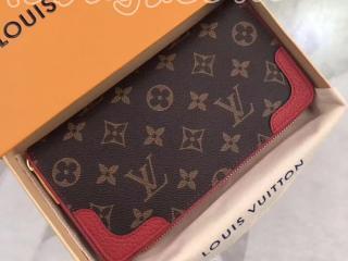 M61854 ルイヴィトン モノグラム 財布 コピー 「LOUIS VUITTON」 ジッピー・ウォレット レティーロ レディース ラウンドファスナー長財布 2色可選択 スリーズ