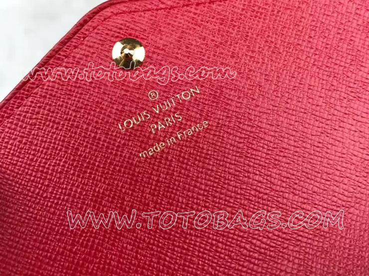 M61184 ルイヴィトン モノグラム 長財布 スーパーコピー 「LOUIS VUITTON」 ポルトフォイユ・サラ レティーロ ヴィトン レディース 二つ折り財布 2色可選択 スリーズ
