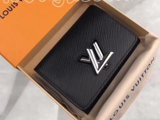M64414 ルイヴィトン エピ 財布 スーパーコピー 「LOUIS VUITTON」 ポルトフォイユ・ツイスト コンパクト ヴィトン レディース 三つ折り財布 4色可選択 ノワール