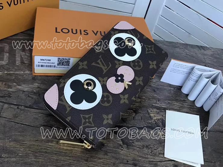 M67246 ルイヴィトン モノグラム 長財布 コピー 「LOUIS VUITTON」 ジッピー・ウォレット ヴィトン レディース ラウンドファスナー財布