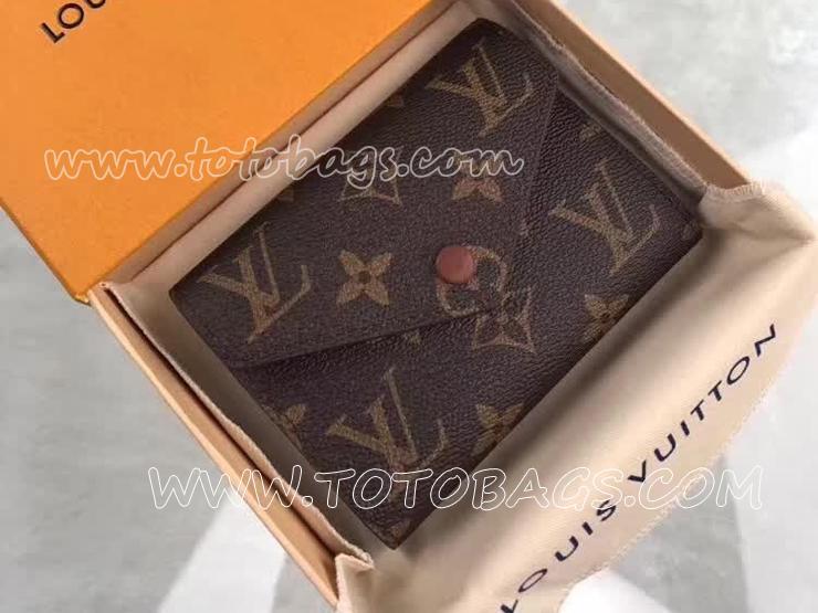 M62472 ルイヴィトン モノグラム 長財布 コピー 「LOUIS VUITTON」 ポルトフォイユ・ヴィクトリーヌ ヴィトン レディース 三つ折り財布
