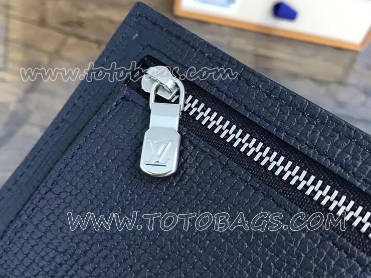 M64135 ルイヴィトン カーフ 財布 コピー 「LOUIS VUITTON」 ポルトフォイユ・コンパクト ヴィトン メンズ 二つ折り財布 2色 ブルーマリーヌ