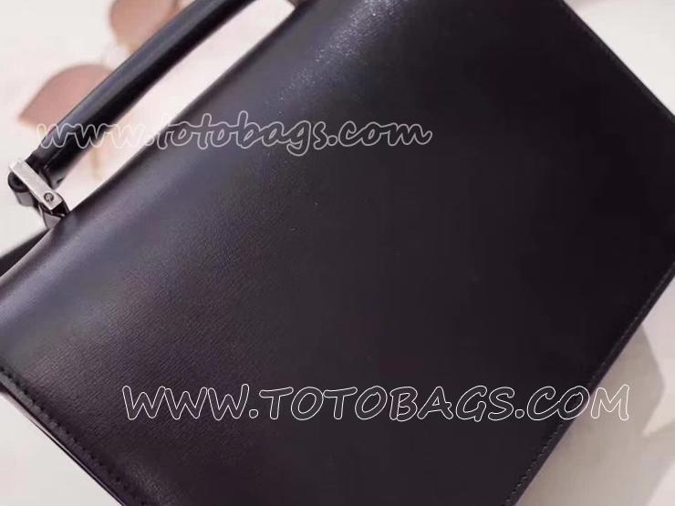 482051D420D1000 サンローラン レディース バッグ スーパーコピー Saint Laurent ベルシャス バッグ 3色 ミディアム/ブラック/レザー