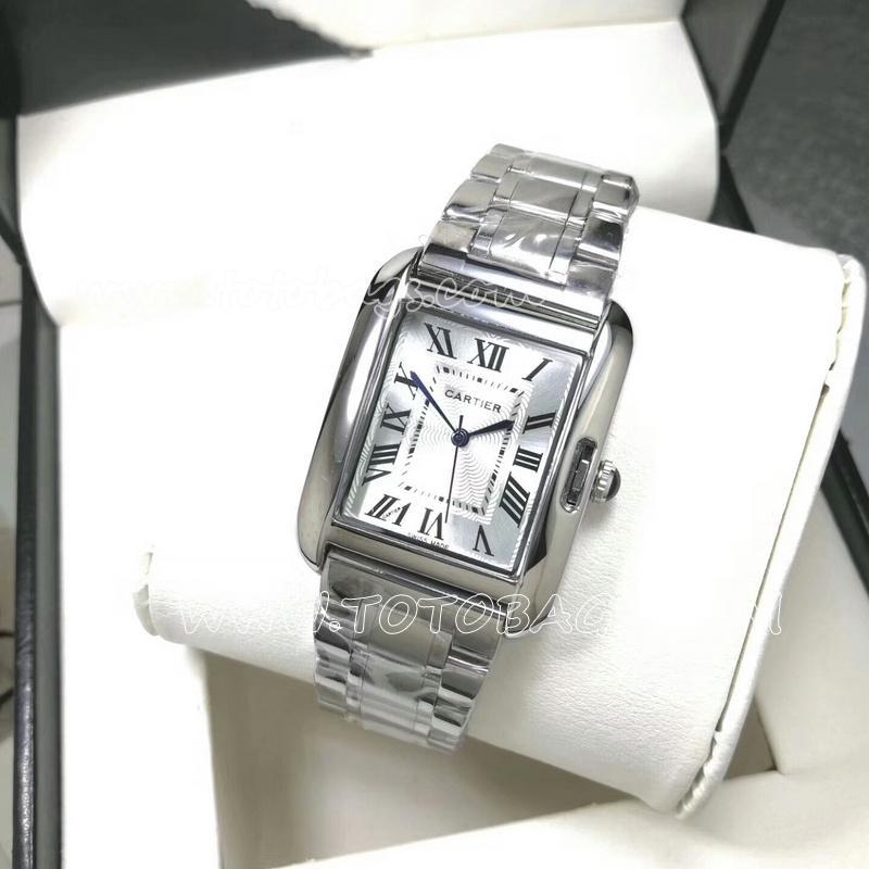 W5200028 カルティエ時計 CARTIER タンクソロ XL カップル 石英時計