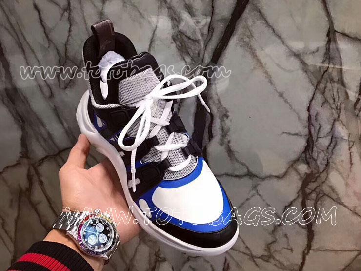ルイ・ヴィトン メンズ スニーカーSS18B 男性の靴 婦人靴 カジュアルシューズ 【レディース・メンズ用】