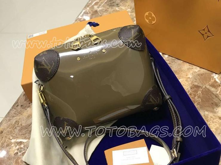M54390 ルイヴィトン パテント バッグ スーパーコピー 「LOUIS VUITTON」 ヴェニス ヴィトン レディース ショルダーバッグ 2色可選択 ヴェール・ブロンズ
