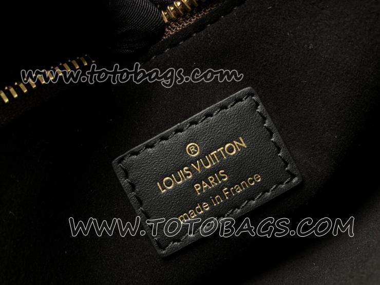 M43550 ルイヴィトン モノグラム バッグ コピー 「LOUIS VUITTON」 フラワー・トートバッグ ヴィトン レディース ショルダーバッグ ノワール