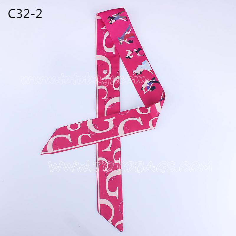エルメスバッグスカーフ/バッグ用レオパード柄スカーフ  7000円以上【送料無料】パターンスカーフ 巻物