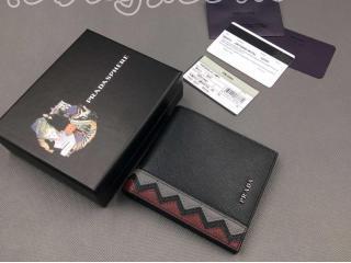 プラダ小物 折りたたみ財布  PRADA 2折りたたみ財布 SAFFIANO METAL  レディースファッション 財布