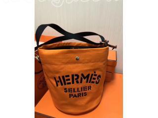 エルメス キャンバスバッグ  Alineアリーヌ 巾着 カバン レディースファッションショルダーバッグ・ポシェット