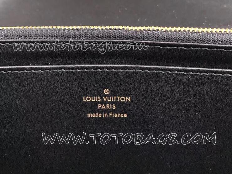 M61316 ルイヴィトン パテント 長財布 スーパーコピー 「LOUIS VUITTON」 ポルトフォイユ・ルイーズ ヴィトン レディース 二つ折り財布 2色選択可 ノワール