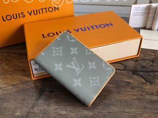 M63233 ルイヴィトン モノグラム・チタニウム 財布 コピー 「LOUIS VUITTON」 オーガナイザー・ドゥ ポッシュ ヴィトン メンズ 二つ折り財布