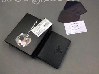 1MV204_2EBW_F0002 プラダ 財布 コピー PRADA 「サフィアーノ」レザー レディース 二つ折り財布 5色選択可 ブラック