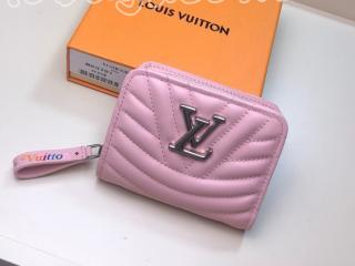 M63791 ルイ・ヴィトン 財布 コピー 「LOUIS VUITTON」 ニューウェーブ ジプト・コンパクト・ウォレット レディース 二つ折り財布 3色可選択 ピンク