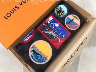 N60091 ルイヴィトン ダミエ・グラフィット 長財布 スーパーコピー 「LOUIS VUITTON」 ポルトフォイユ・ブラザ メンズ 二つ折り財布