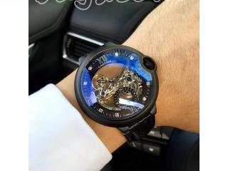 カルティエ時計 腕時計 43mm 自動巻き時計男用 【ケース 】ゴールド シルバー ダークコーヒー色 ピンクゴールド 4色選択可